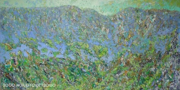 Huile sur toile, 120cm x 70cm, 2008
