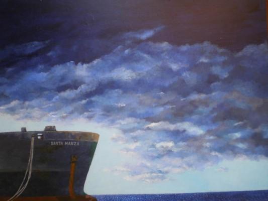 2008, huile sur toile, 100cm x 70cm, Coll part