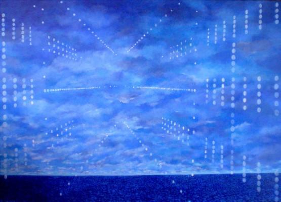 2010, huile sur toile, 100cm x 70 cm