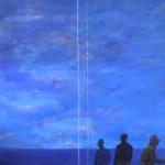 2009. Huile sur toile.125cm x 100cm