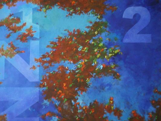 2011. Acrylique sur toile. 210cm x 160cm