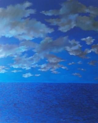 Acrylique sur toile, 260cm x 200cm, 2009. Coll part.