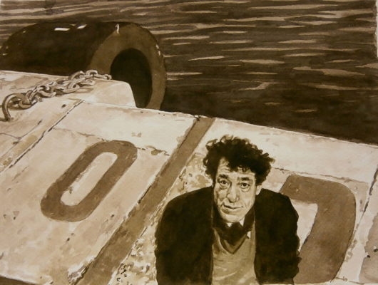 Giacometti, 21cm x 30cm,.