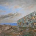 Huile sur toile, 180cm x 100cm, 2007.