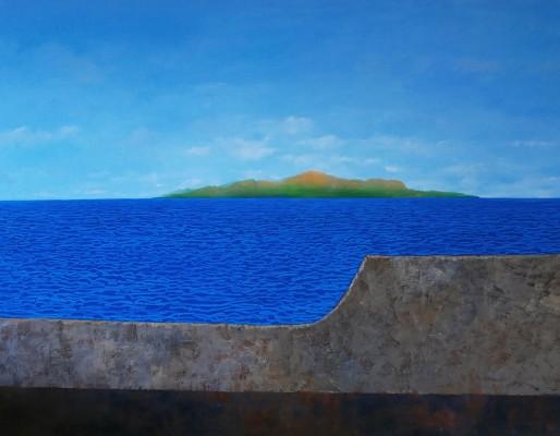 Huile sur toile, 130cm x 100cm, 2015.