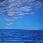 2014, acrylique sur toile, 98cm x 98cm