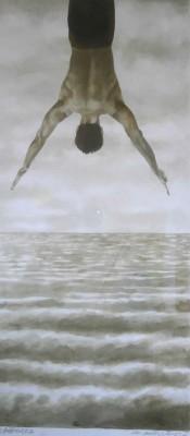 Encre/papier, 22cm x 50cm, 2013