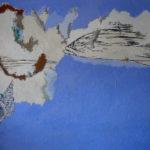 Huile sur toile, 120cm x100cm, 2012.