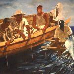 2003 Pesca, acrylique sur toile, 365cm x 225cm.