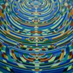 V3 / Acryl sur toile, 200cm x 130cm, 2018.