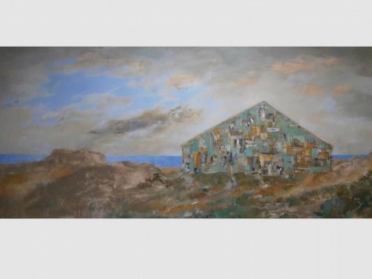 Huile sut toile, 180cm x 120cm, 2005