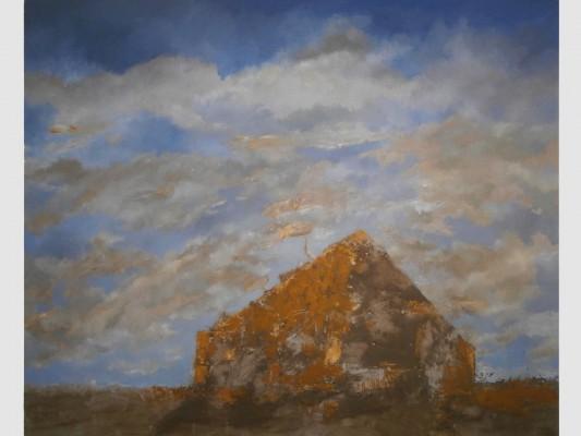 Huile sur toile, 120cm x 100cm, 2005.