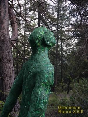 greenman. Arboretum de Roure