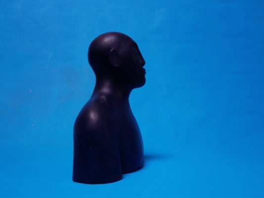 Buste bleu II