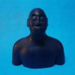 Buste bleu III