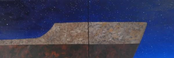 Huile sur toile, 130cm x 150cm, 2015