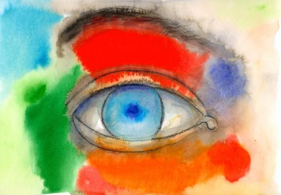 Oeil couleur